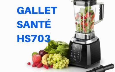 Stolní mixér Gallet Santé Smoothie HS 703