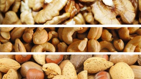 3x Smoothie s ořechy